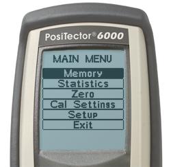 PosiTector 6000TCX, Laagdiktemeters
