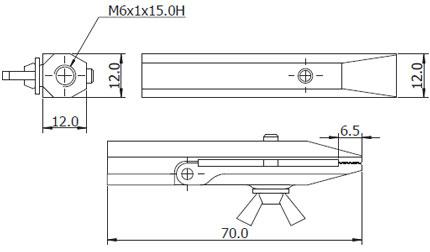 Afmetingen Imada Opzetstukken FG-GRM6FLM12